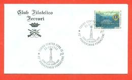 LIONS CLUB - MARCOFILIA -  TORINO CENTRO 1992 - Francobolli
