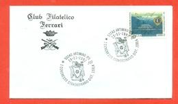 LIONS CLUB - MARCOFILIA -  ARTIMINO 1992 - Francobolli