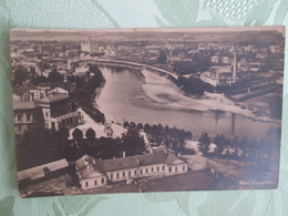 Carte Photo Wilna . Cachet Militaire - Lituanie