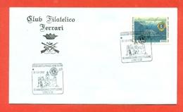 LIONS CLUB - MARCOFILIA -  CASTELFRANCO VENETO 1992 - Francobolli