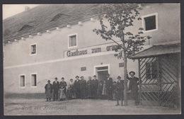 CPA - Tchéquie, Gruss Aus KRZEMUSCH,Gasthaus Zum Grunen Baum.( Křemýž - Teplitz ) - Tchéquie