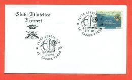 LIONS CLUB - MARCOFILIA -  GENOVA 1992 - Francobolli