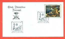 LIONS CLUB - MARCOFILIA -  TRIESTE 1992 - Francobolli