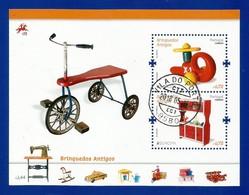 Portugal   2015 Mi.Nr. 4036 + 4037 / Block 376 , EUROPA CEPT - Historisches Spielzeug - Gestempelt / Used / (o) - Europa-CEPT