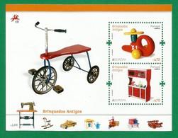 Portugal   2015 Mi.Nr. 4036 + 4037 / Block 376 , EUROPA CEPT - Historisches Spielzeug - Postfrisch / MNH / (**) - Europa-CEPT
