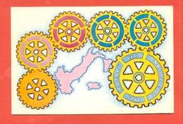 ROTARY INTERNATIONAL  - MARCOFILIA - - Cartoline
