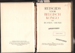"""Belgisch Congo, Congo Belge, """"Unieke Reisgids Voor Belgisch Congo En Ruanda Urundi"""" 1952, ZELDZAAM, Collector! - Culture"""