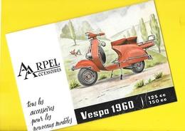 """""""VESPA"""" 1960 Accessoires ARPEL Format 16 X 24 Cm Env. - Motos"""