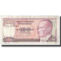 Billet, Turquie, 100 Lira, 1970, 1970-10-14, KM:194a, TB - Turkey