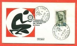 ROTARY INTERNATIONAL  - MARCOFILIA - A GENOVA 1979 - Francobolli
