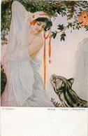 S. SOLOMKO - BESIEGT, VAINCUE, VANQUISHED. EDIT: T.S.N. ART POSTALE, ARTE PORTAL NON CIRCULE -LILHU - Pintura & Cuadros