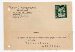 German Occupation Poland Jaslo 1940 - 1939-44: 2ème Guerre Mondiale