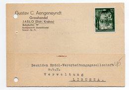 German Occupation Poland Jaslo 1940 - 1939-44: World War Two