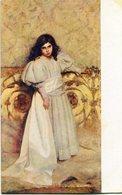 C. TALLONE - RITRATTO DI BAMBINA, PORTRAIT D'ENFANT. ART POSTALE, ARTE PORTAL NON CIRCULE -LILHU - Pintura & Cuadros