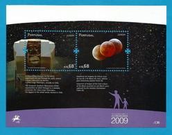 Portugal   2009  Mi.Nr. Block 281 (3407/3408) , EUROPA CEPT - Astronomie - Postfrisch / MNH / (**) - Europa-CEPT