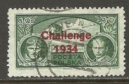 POLAND 1934 Europaflug Michel 290 O - 1919-1939 Republik