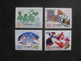 TAIWAN ( FORMOSE) : TB Série N° 2381 Au N° 2384, Neufs XX. - 1945-... République De Chine