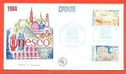 UNESCO -FRANCIA 1984  - MARCOFILIA - - Francobolli