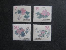 TAIWAN ( FORMOSE) : TB Série N° 2386 Au N° 2389, Neufs XX. - 1945-... République De Chine