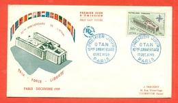 NATO - OTAN  -FRANCIA 1959 - MARCOFILIA - - Francobolli