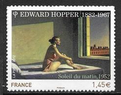 France 2012 Timbre Adhésif Neuf** N°661A Edward Hopper Cote 7 Euros - France