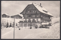 CPA  Suisse, GSTAAD, Hotel Pension Alpenblick - BE Berne