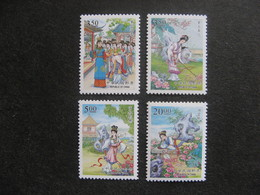 TAIWAN ( FORMOSE) : TB Série N° 2390 Au N° 2393, Neufs XX. - 1945-... République De Chine