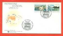 UNESCO - ONU GINEVRA 1984 - Francobolli