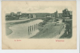 WIMEREUX - La Rivière (tramway ) - Autres Communes