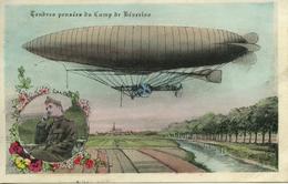 Tendres Pensées Du Camp De Beverloo ZEPPELIN Ballon Dirigeable - Hasselt