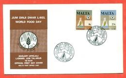 FAO - MALTA 1981  - MARCOFILIA - Francobolli