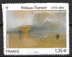France 2010 Timbre Adhésif Neuf** N°402 William Turner Cote 8,00 Euros - France