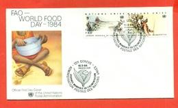 FAO - ONU GINEVRA 1984 - Francobolli