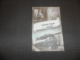 Alost  Aalst  Groeten Uit Aalst  -  Train  Trein - Aalst