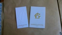 Carte Parfumée Annick Goutal 2 Différentes - Perfume Cards