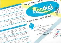 """Motos """"MONDIAL"""" 1959  Format 31 X 41 Cm Env. Recto/Verso - Motos"""