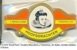 Vitolas Royal Flash. Tocados Masculinos Y Femeninos. FM Ref. 14-1475 - Vitolas (Anillas De Puros)