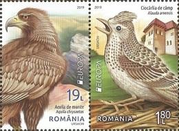 RO 2019-09 EUROPA CEPT, ROMANIA, 2S/S, MNH - 2019