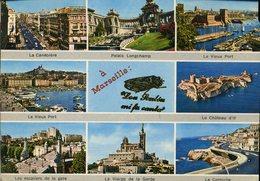CPM - Vues Diverses De La Ville - Marseille
