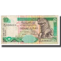 Billet, Sri Lanka, 10 Rupees, 2001, 2001-12-12, KM:108a, TB - Sri Lanka