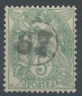 Lot N°49227  N°111, Oblit Jour De L'an 67 Dans Un Cercle - 1900-29 Blanc