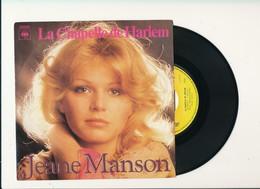 """JEANE MANSON  """" LA CHAPELLE DE HARLEM """" Disque CBS 1977  TRES BON ETAT - Rock"""
