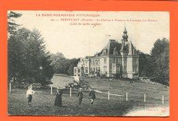 ET/200 BASSE NORMANDIE PEPINVAST MANCHE LE CHATEAU A LA COMTESSE LE MAROIS COTE JARDIN ANGLAIS - France
