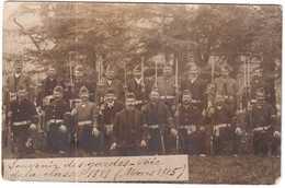 CPA NORD.DUNKERQUE 1915.SOUVENIR DES GARDES VOIES DE LA CLASSE 1889.MARS 1915 - Dunkerque