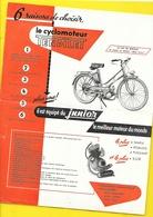 """Cyclomoteur """"TANDILET"""" Format A4 Recto/Verso - Motos"""