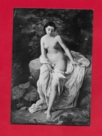 CARTOLINA NV ITALIA - BOLOGNA - Bagnante - Seno Nudo - Francesco Rosaspina - Pinacoteca Nazionale - 10 X 15 - Pittura & Quadri