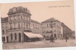 """Tienen, Thienen, Tirlemont, Place De La Station, Speciale Uitgevave Pâtissiers Bruxellois"""" ZELDZAAM - Tienen"""