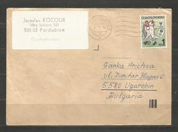 CSSR  -  Traveled Cover To BULGARIA  - D 4152 - Tschechoslowakei/CSSR