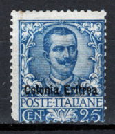 Eritrea 1903 Sass.24 */MH VF/F - Eritrea