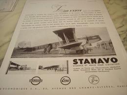 ANCIENNE PUBLICITE VOYAGE L AIR UNION 1931 - Advertisements
